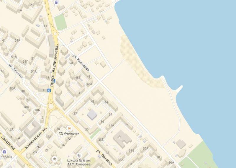 Активисты Каспийска помешали строительству гостиницы в районе пляжа