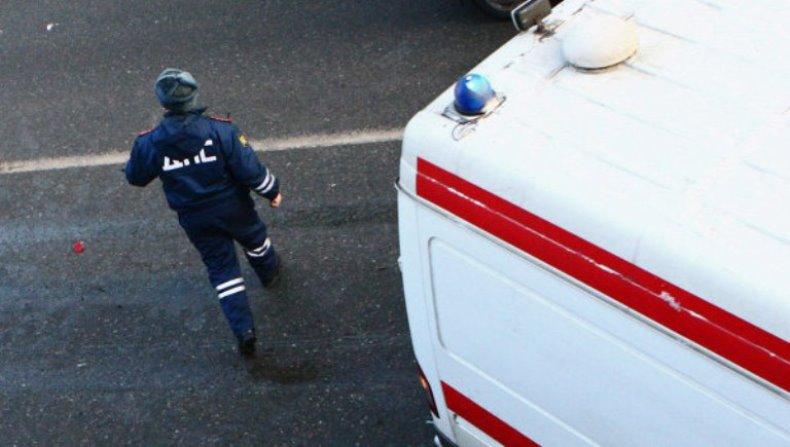В Кумторкалинском районе столкнулись газовоз и фура