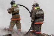 В селе Цунтинского района сгорело четыре дома