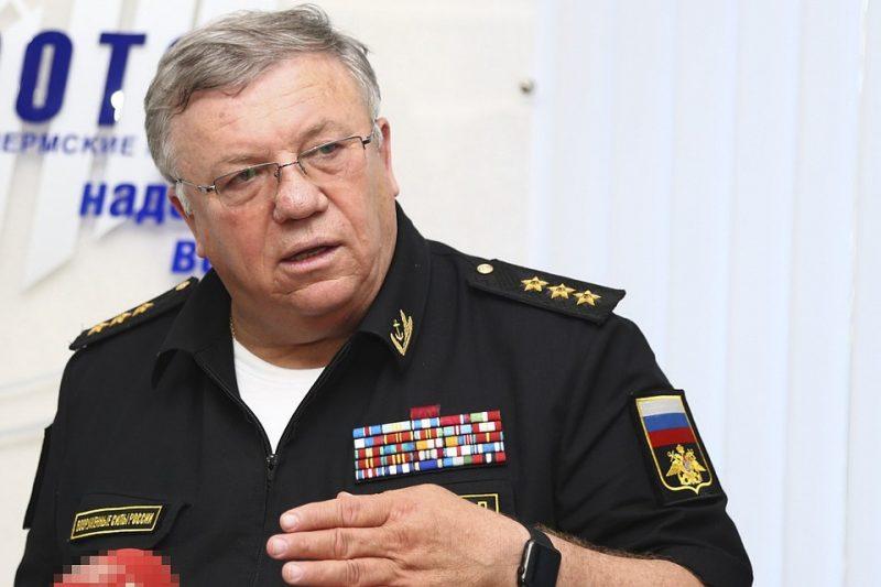 Адмирал Комоедов: Перебазирование Каспийской флотилии -