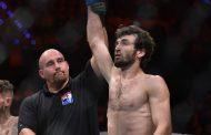 Забит Магомедшарипов получил бонус от UFC за лучший поединок вечера