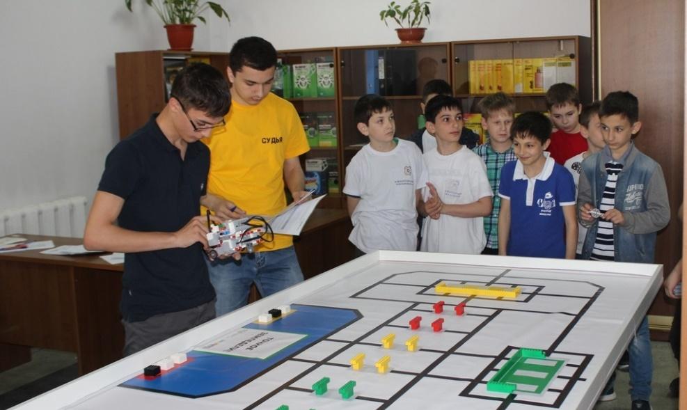 Региональный этап Всероссийской робототехнической олимпиады прошел в Махачкале