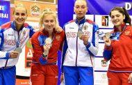 Дагестанка выиграла серебро на этапе Кубка мира по фехтованию