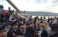 В Махачкале полиция задержала участников митинга против застройки парка