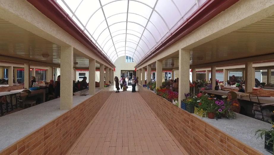 В Кизилюрте восстановлен сгоревший городской рынок