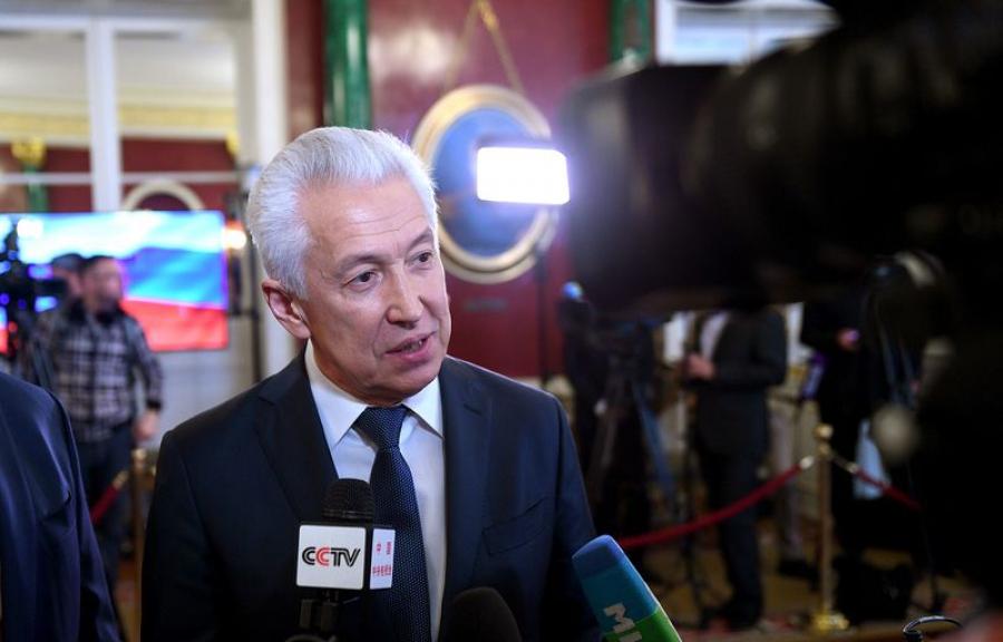 Владимир Васильев: Президент страны обозначил задачи, которые стоят перед нами