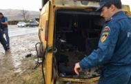 В ДТП в Дербентском районе пострадали 11 человек