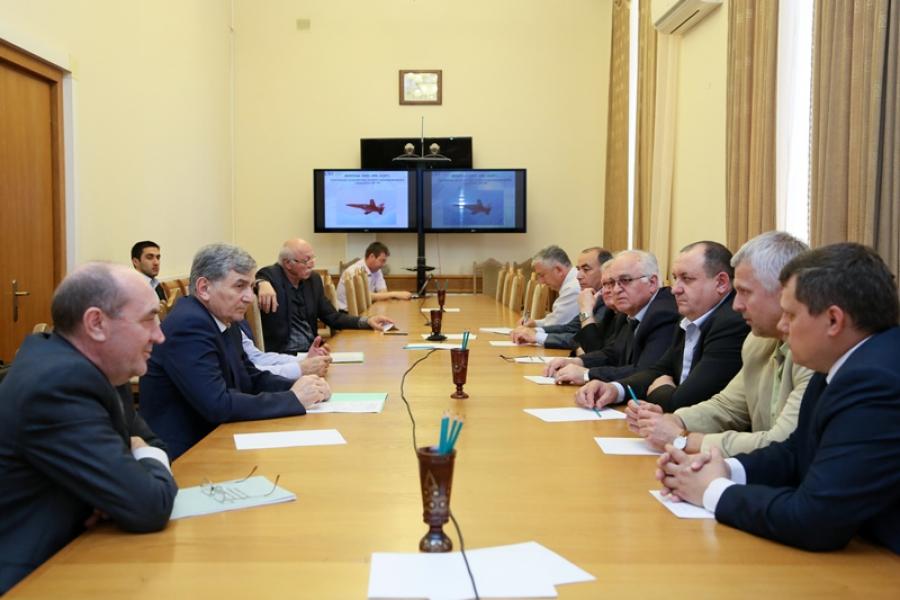 В Дагестане планируется наладить производство деталей и узлов для самолета СР-10