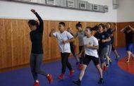 Китайские спортсменки готовились к чемпионату Азии по вольной борьбе в Дагестане