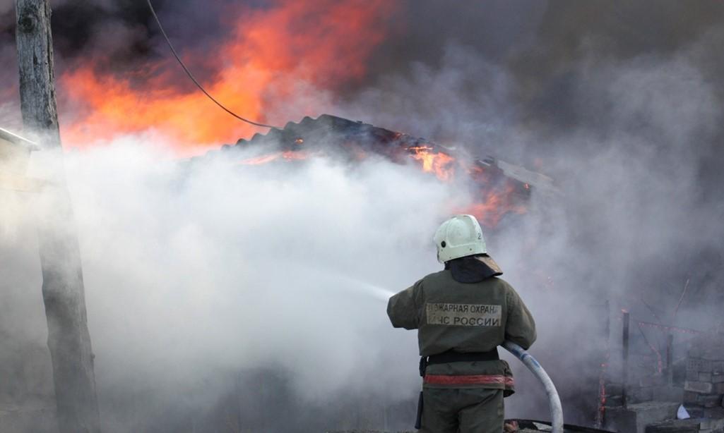 При пожаре в селе Кардоновка погибли два человека