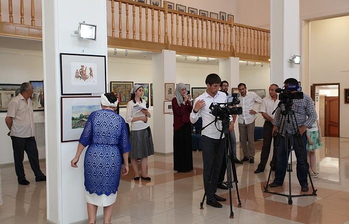 В Ингушетии состоялась передвижная выставка дагестанских художников