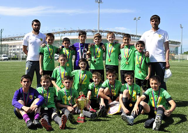 Детская команда «Анжи» узнала соперников по суперфиналу «Локобола»
