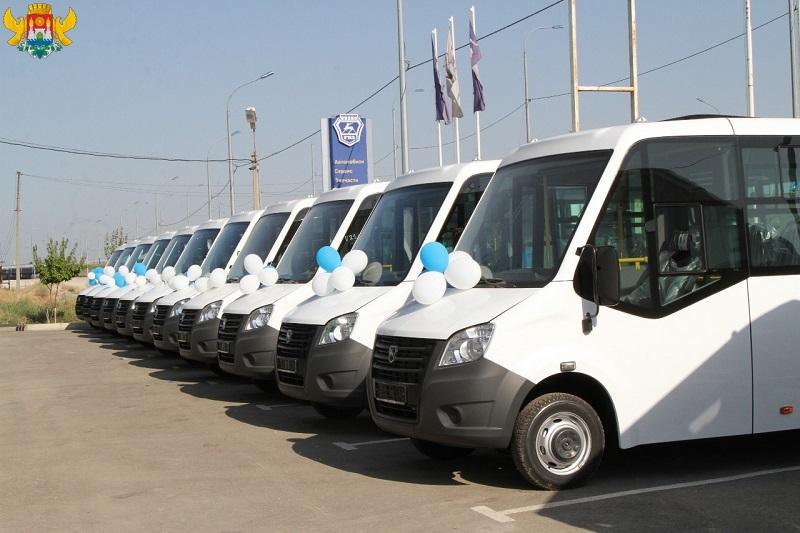 В автопарк Махачкалы поступили новые микроавтобусы