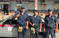 Гвардейцы задержали вора, проникшего в магазин через крышу