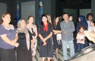 Росгвардейцы вместе с семьями погибших товарищей посетили музей «Россия – моя история» в Махачкале