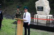 В Цунтинском районе открыт памятник погибшим пограничникам