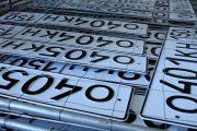 В России появятся новые номерные знаки для автомобилей и мотоциклов