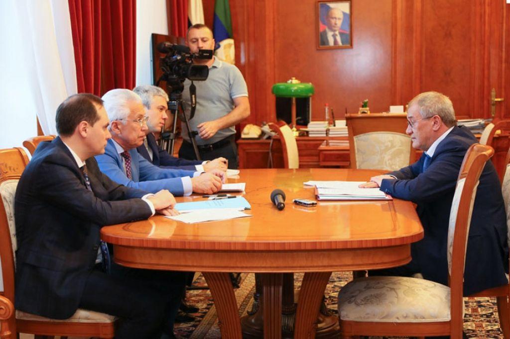 В Махачкале обсудили вопросы водоснабжения республики