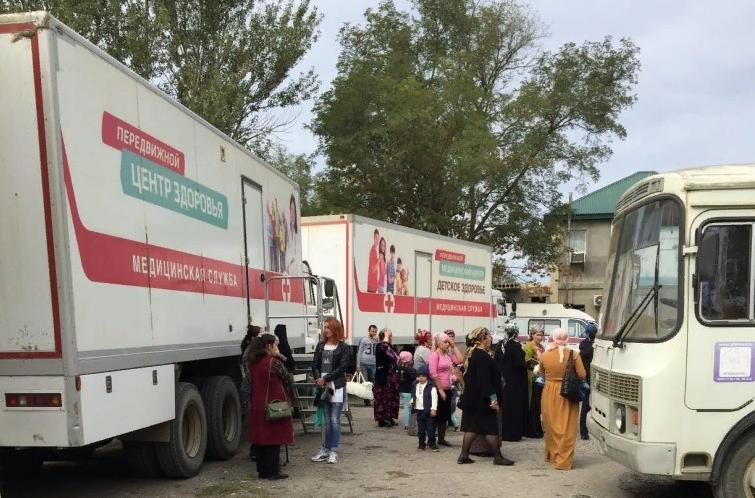 В Дагестане запущен проект «Забота о здоровье»