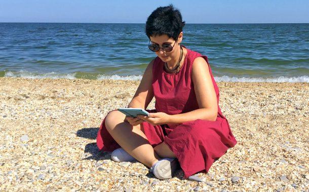 Юзефович все еще на пляже