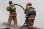 В Хасавюрте сгорел склад детского питания