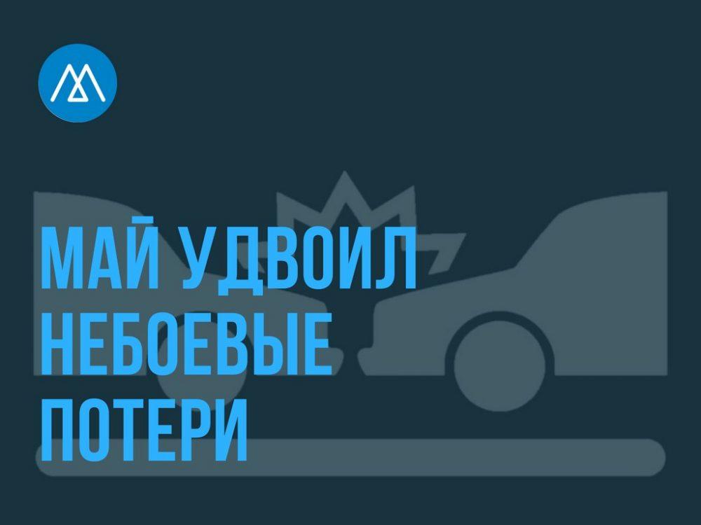 За месяц на дорогах Дагестана погибло 44 человека